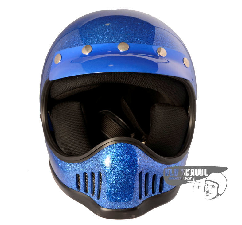Casco Star MC Flake Blue