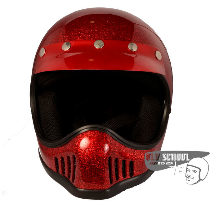 Casco Star MC Flake Red