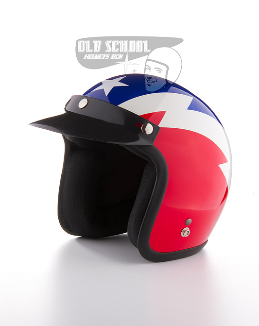 "Casco jet Elders ""Red, white and blue"""